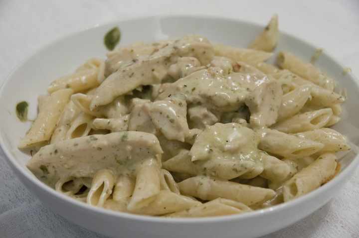 Easy chicken pesto pasta recipes