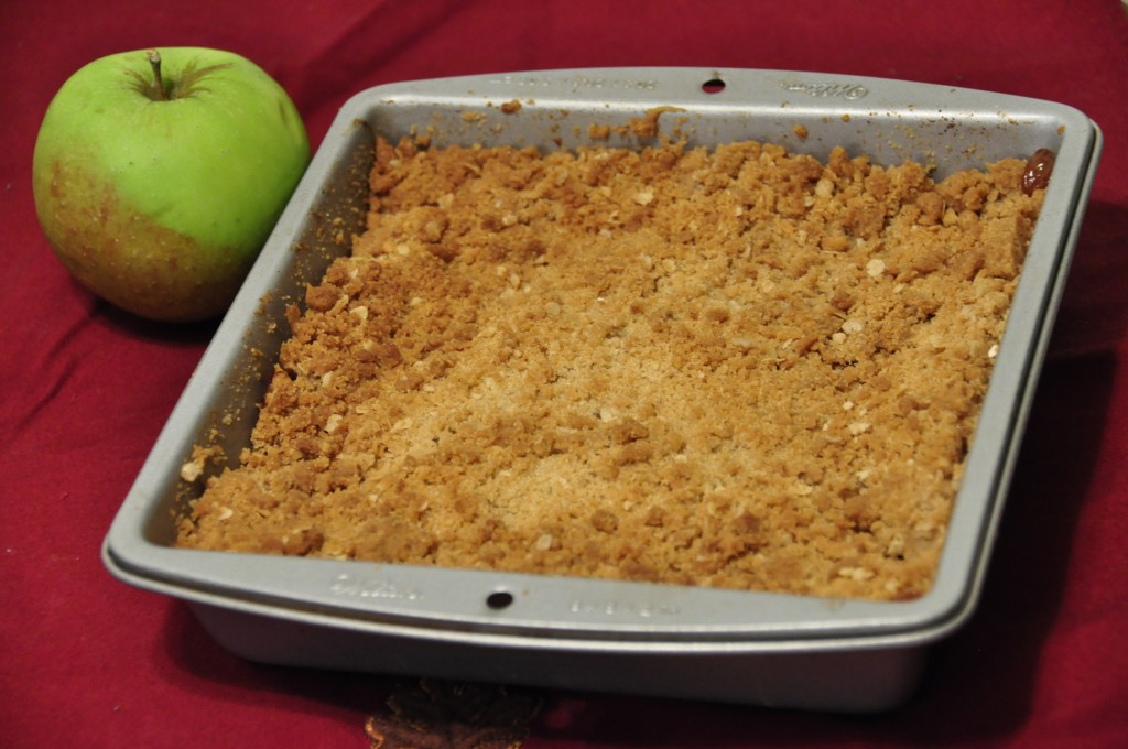 An easy, tasty version of apple crisp with a crunchy, buttery brown sugar and oatmeal topping. This is the Best Apple Crisp recipe I have ever tasted!