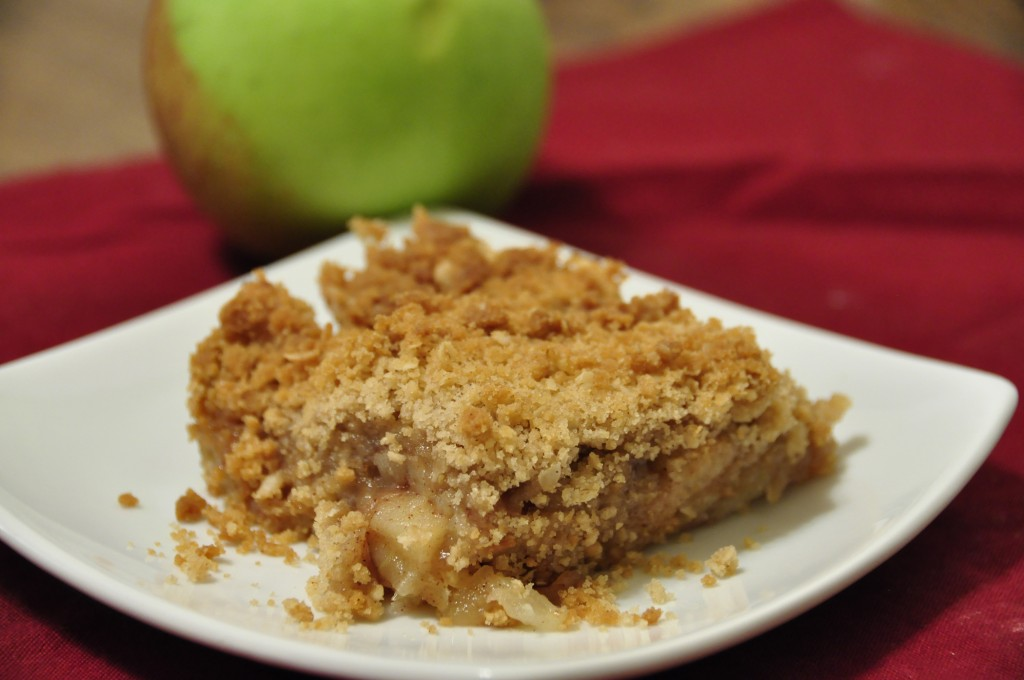 A no-fuss, very delicious version of apple crisp with a crunchy, buttery brown sugar and oatmeal topping.  This is the Best Apple Crisp recipe I have ever tasted!