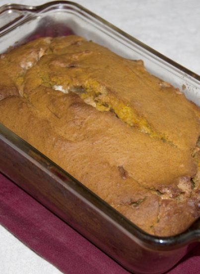 White Chocolate Pumpkin Bread Recipe