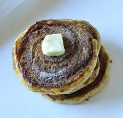 Cinnamon Swirl Pumpkin Pancakes