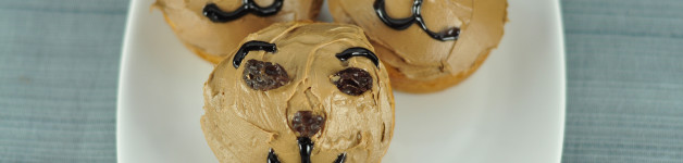Easy Groundhog Day Caramel Cupcakes