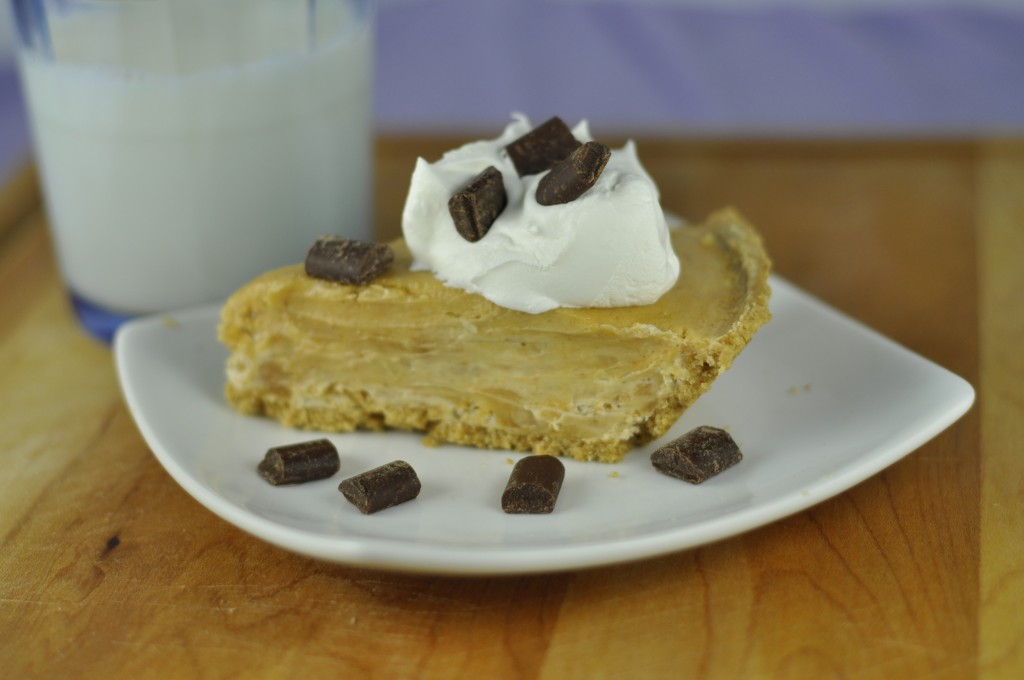 Creamy Peanut Butter Pie in Graham Cracker Crust