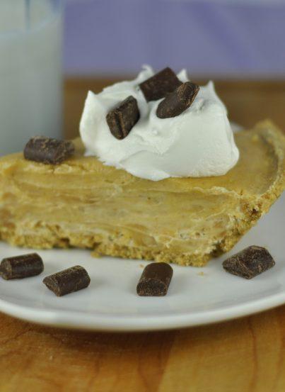 Creamy Peanut Butter Pie in Graham Cracker Crust