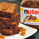 Pecan Nutella Brownies