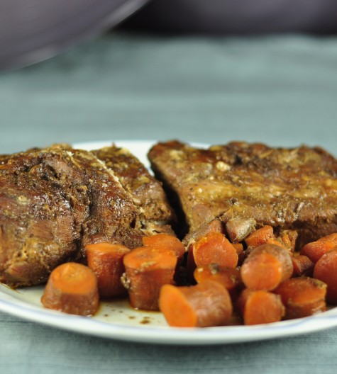 Slow Cooker Crock Pot Brown Sugar Pork Loin