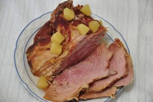 Your slow cooker will do all of the work with this Easy Crock Pot Ham for the holidays! Only 4 ingredients needed!