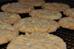 Toffee Almond Sandies are the perfect dessert and awesome cookie.