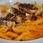 Pasta with Vodka Blush Sauce & Chicken