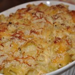 Autumn Chicken Mac and Cheese