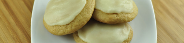 Soft Brown Sugar Cookies with Browned Butter Frosting