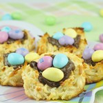 Salted Caramel Easter Popcorn | Wishes and Dishes