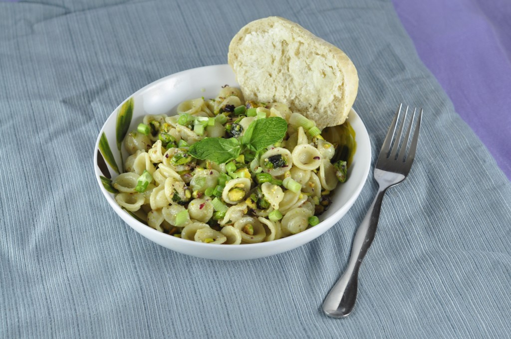 Easy Pistachio Pasta recipe is so creamy and full of flavor. This simple pasta dish would be a great recipe to add to your arsenal of easy plant-based meals!