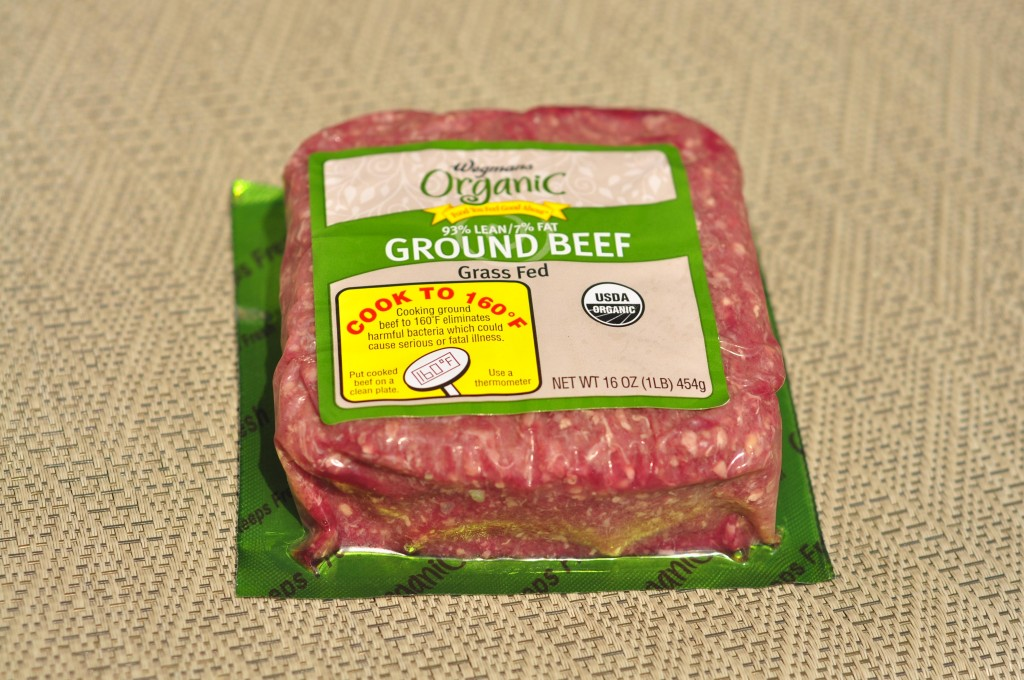 Wegmans Organic Grass Fed Ground Beef