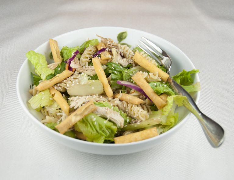 Chinese Chicken Wrap Chinese Chicken Salad