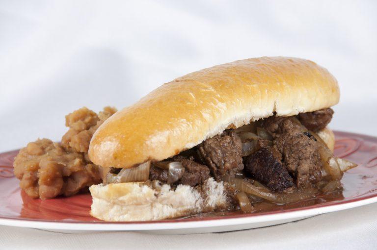 """Fancy Sloppy Joe, aka """"Marlboro Man's Sandwich"""""""
