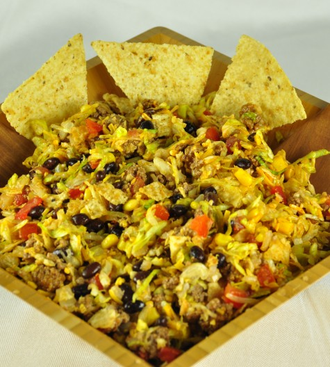 Hearty Beef Taco Salad