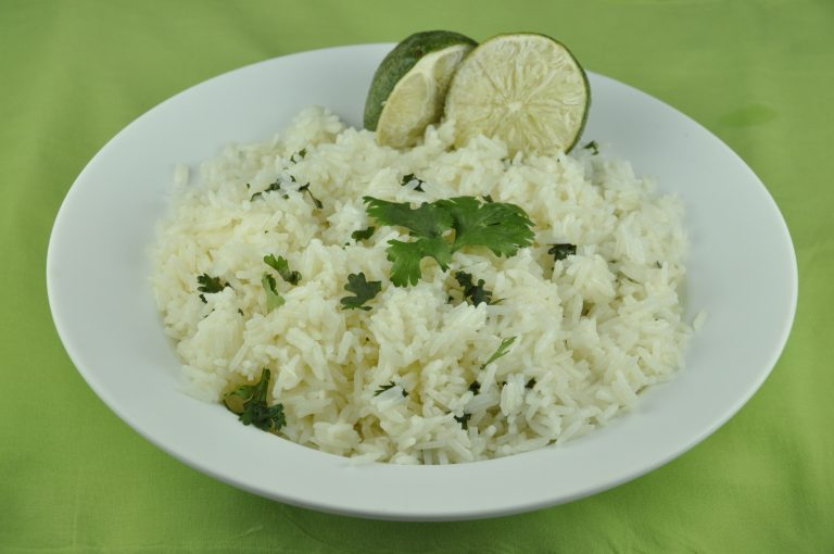 Cilantro Lime Rice | Wishes and Dishes