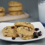 Honeyed Banana Berry Cake Cookies
