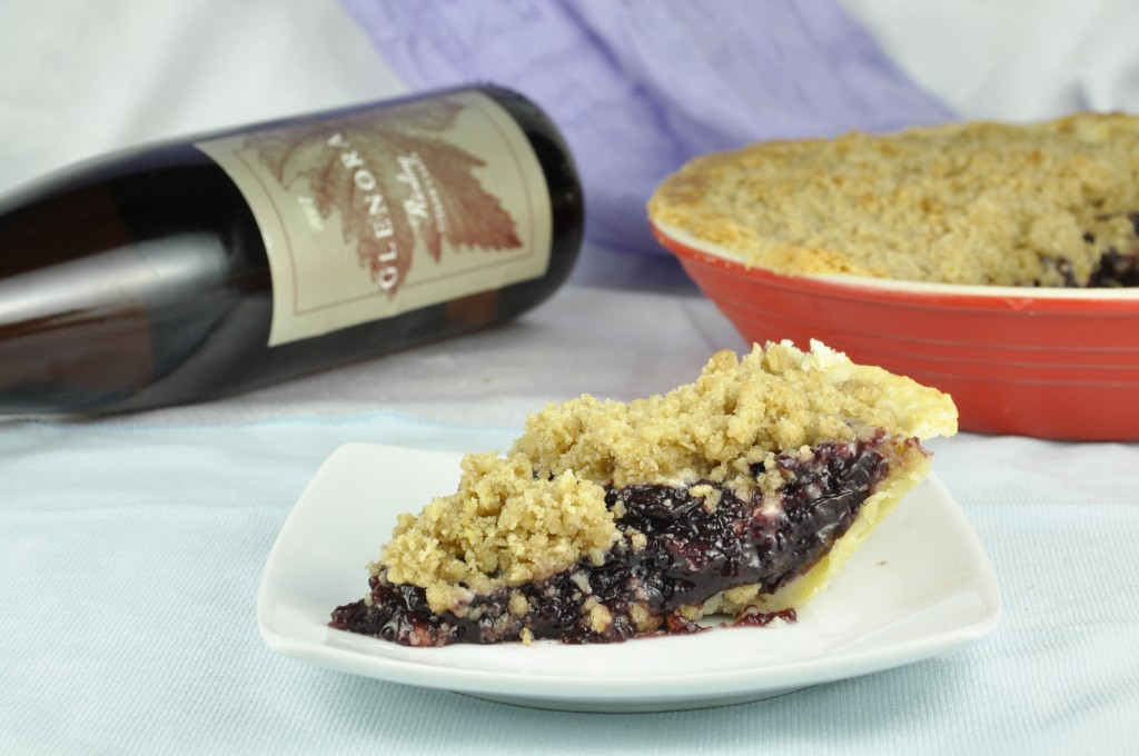 Concord Grape Pie from Naples Grape Festival