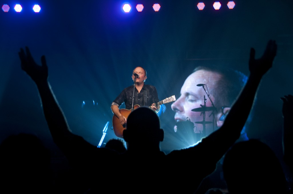 Chris Tomlin and All Sons and Daughters Concert at Roberts Wesleyan College