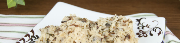 Crock Pot Chicken and Wild Rice. Easy and cheap slow cooker meal!
