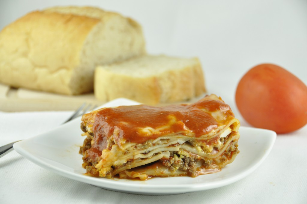 Grandma's Italian Lasagna authentic recipe made exactly the way all of the Italians made it when I visited Italy! We eat this for every holiday meal and this is made in her memory to keep the tradition alive.