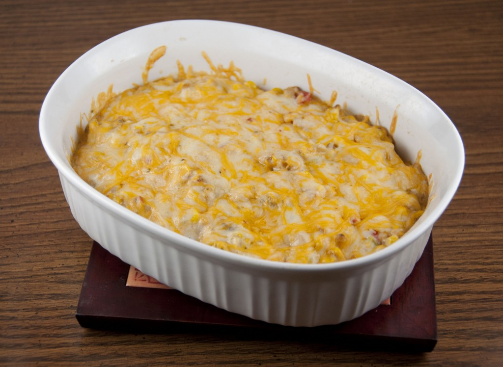 Hot Corn and Cheese Dip . Perfect for game day (football, baseball, whatever)!
