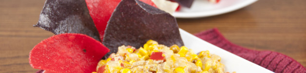 Hot Corn and Cheese Dip . Perfect for game day (football, baseball, whatever)! Oh, and it's kind of healthy.