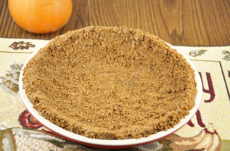 Pumpkin Ice Cream Pie with Gingersnap Crust made with Perry's Ice ...