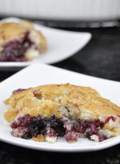Blackberry Cobbler Recipe from Pioneer Woman's recipe. Easy and delicious!