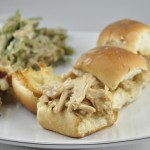 Leftover Turkey Sliders