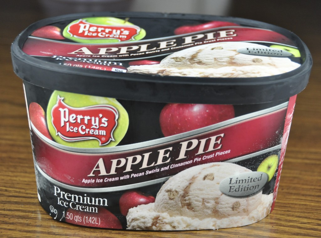 Perry's Premium Apple Pie Ice Cream flavor for fall.