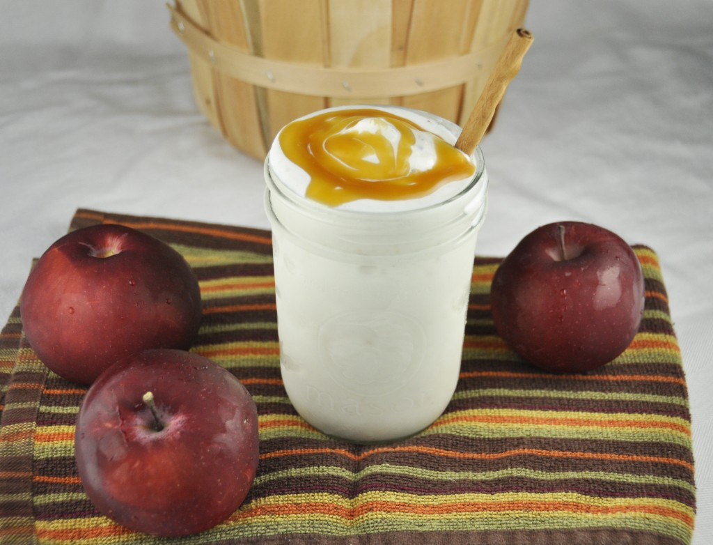 Perry's Apple Pie Milkshake made with their premium flavor for fall.