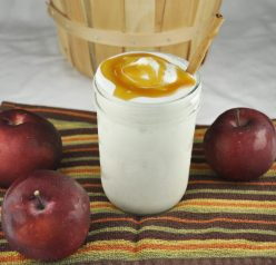 Perry's Apple Pie Milkshake Recipe made with their premium flavor for fall.