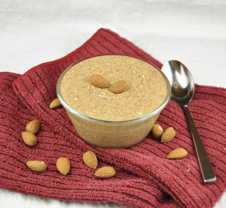 Homemade Maple Almond Butter