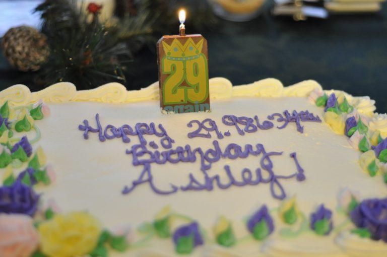 Ashley's 30th Birthday Cake