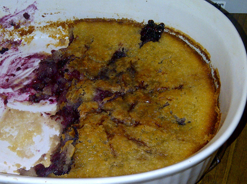 Failed Blackberry Cobbler