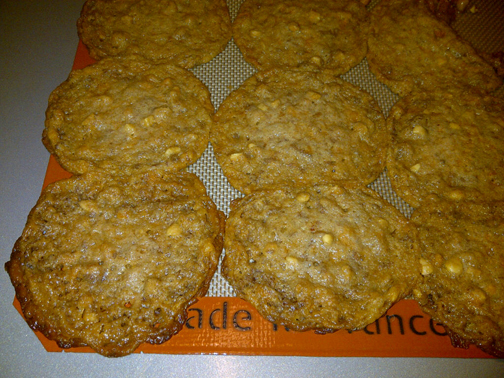Failed Butterfinger Cookies
