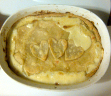 Failed Chicken Pot Pie