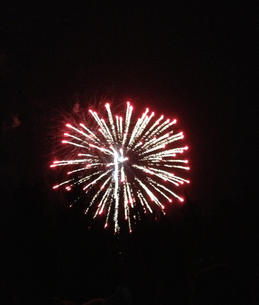 Groundhog Day Weekend, Punxsutawney, Pennsylvania. Gobbler's Knob Fireworks.