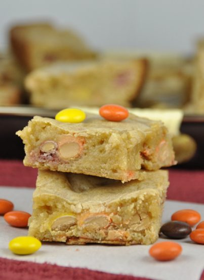 Reese's Pieces Blondies