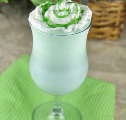 Homemade Shamrock Shake Recipe for St. Patrick's Day
