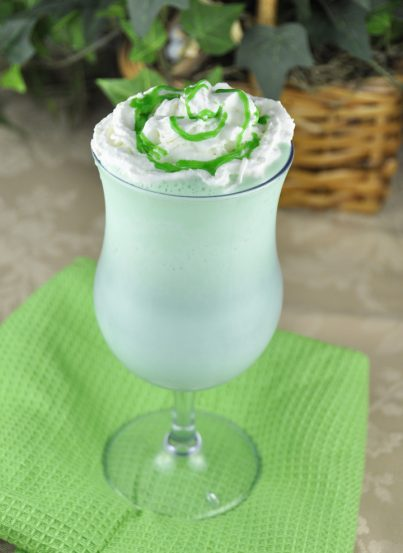 Homemade Shamrock Shake Recipe for St. Patrick's Day