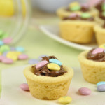 M&M Nutella Cookie Cups
