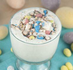 Robin Eggs Malted Milkshake Recipe for Easter or Spring
