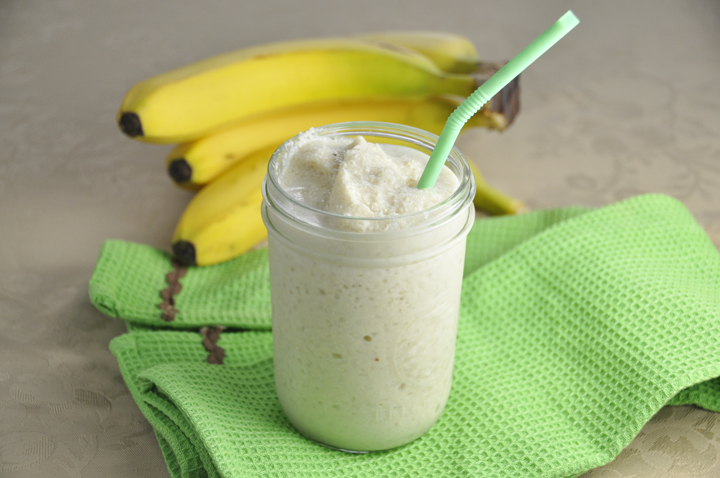 Banana Cashew Smoothie Recipe (Dairy Free)