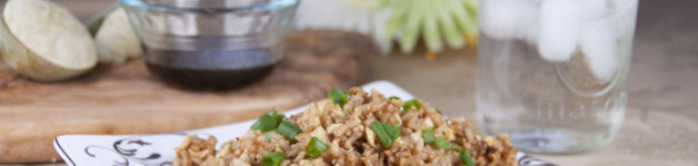 Brown Fried Rice Recipe. Great with any Asian meal!