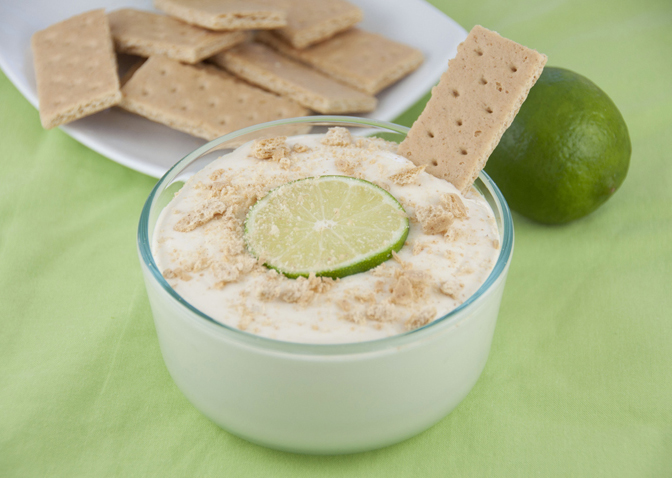 Key Lime Pie Dip Recipe. Key Lime pie in a dip form!