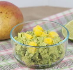 Mango Guacamole with Cilantro for Cinco de Mayo Recipe